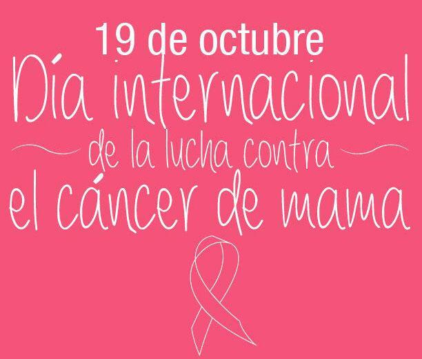 dia internacional lucha contra cáncer de mama