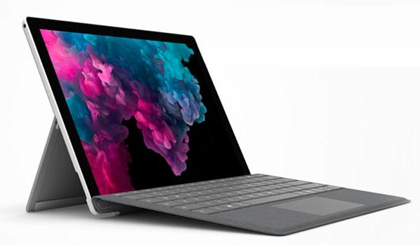 Las mejores laptops para médicos y profesionales de medicina Microsoft Surface Pro 6