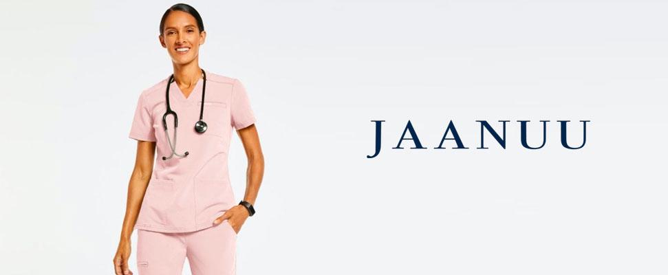Jaanuu women's scrubs. Las mejores marcas de uniformes para enfermeras