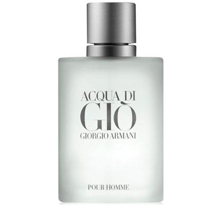 Giorgio Armani's Acqua Di Gio Los mejores perfumes para hombre
