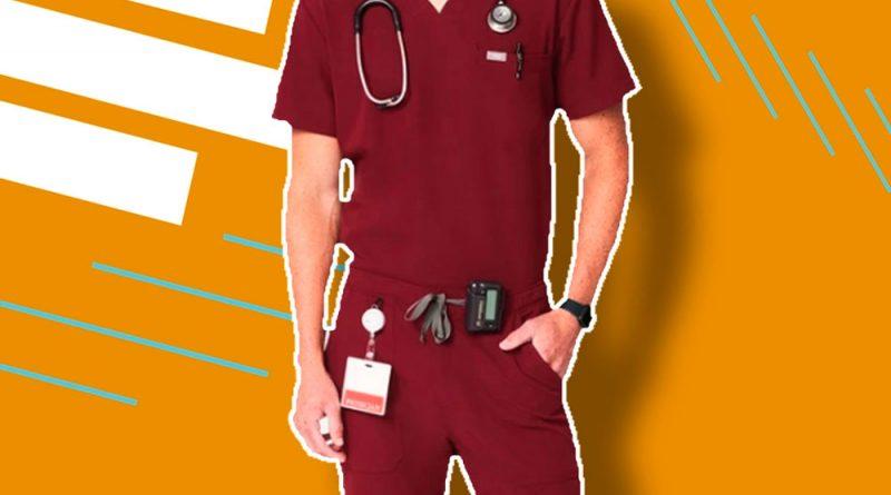 Los mejores uniformes médicos de hombres para turnos de 12 horas